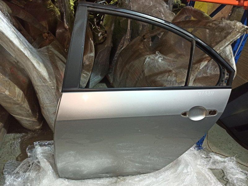 Дверь Nissan Primera P12 ЛИФТБЕК QG18DE 2005 задняя левая (б/у)