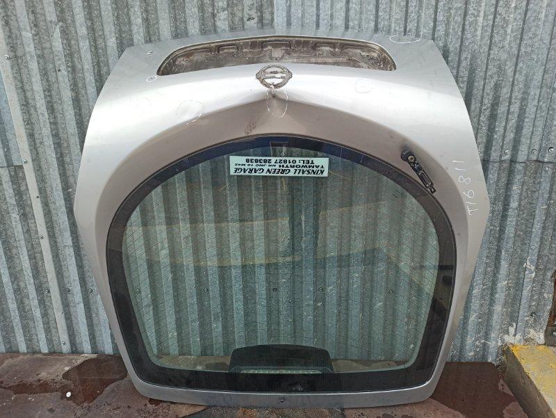 Крышка багажника Nissan Primera P12 ЛИФТБЕК QG18DE 2005 задняя (б/у)