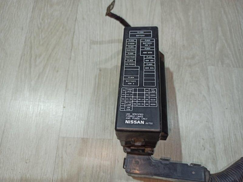 Блок предохранителей Nissan Primera P12 ЛИФТБЕК QG18DE 2006 (б/у)