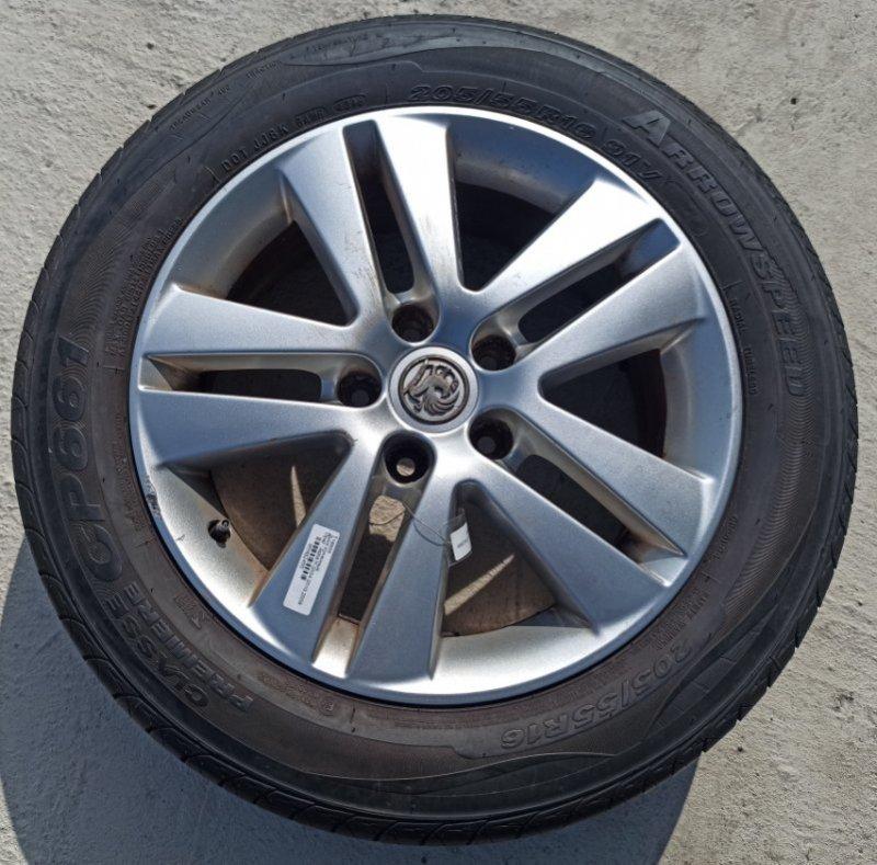 Диск колесный литой Opel Astra H ХЭТЧБЕК 5Д Z14XEP 2009 (б/у)