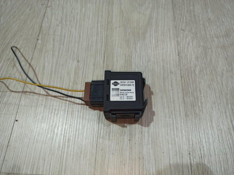 Иммобилайзер блок Nissan Primera P12 ЛИФТБЕК QG18DE 2006 (б/у)
