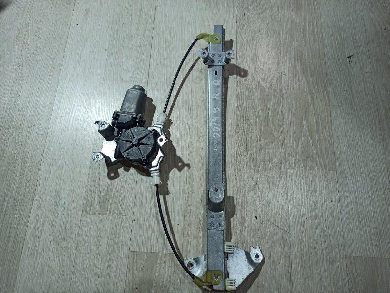 Стеклоподъемник Nissan Primera P12 ЛИФТБЕК QG18DE 2006 задний правый (б/у)