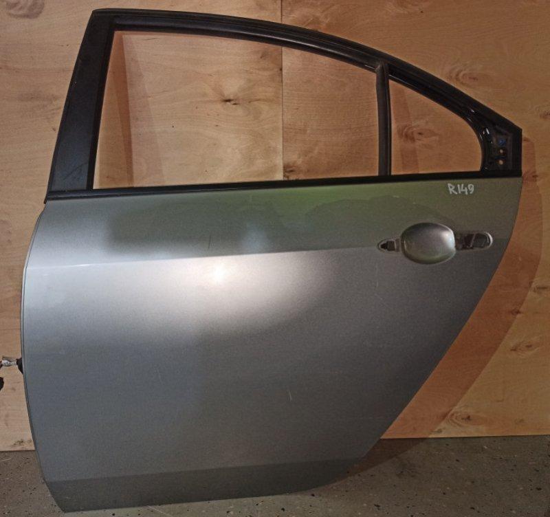 Дверь Nissan Primera P12 ЛИФТБЕК QG18DE 2006 задняя левая (б/у)