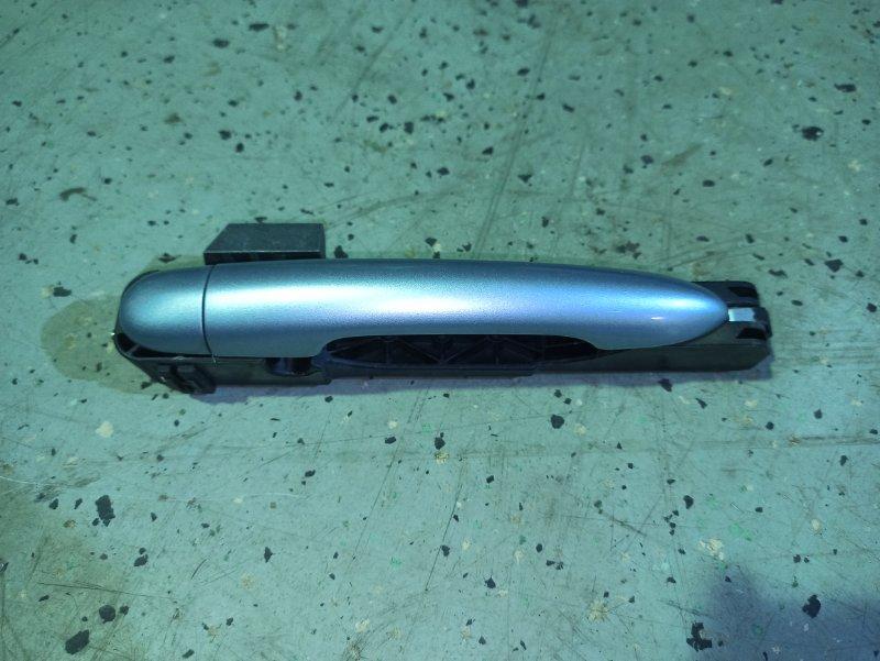Ручка двери внешняя Nissan Primera P12 ЛИФТБЕК QG18DE 2004 правая (б/у)