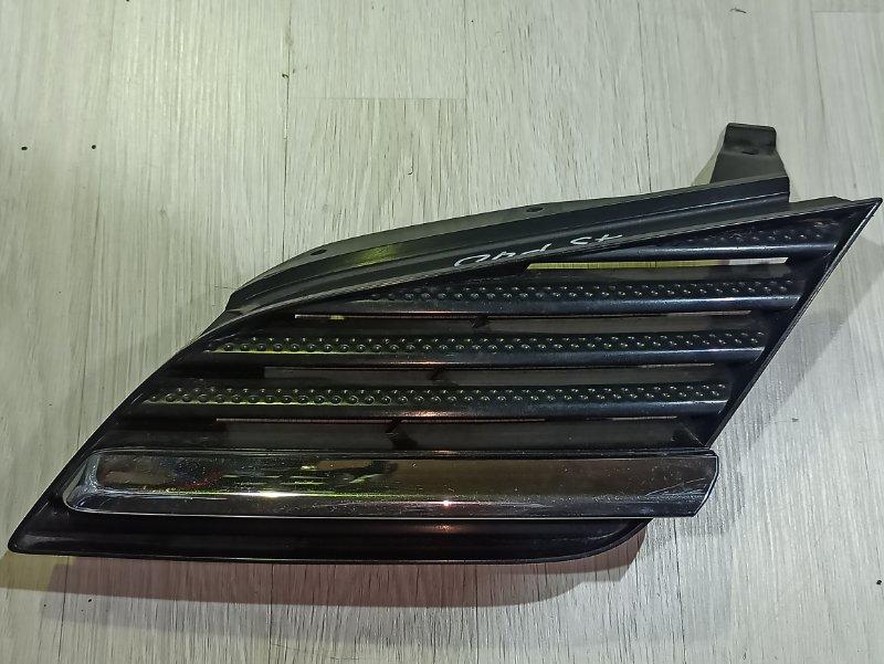 Решетка радиатора Nissan Primera P12 ЛИФТБЕК QG18DE 2006 левая (б/у)