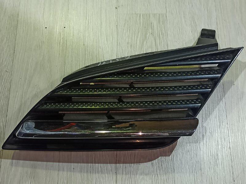 Решетка радиатора Nissan Primera P12 ЛИФТБЕК QG18DE 2005 левая (б/у)