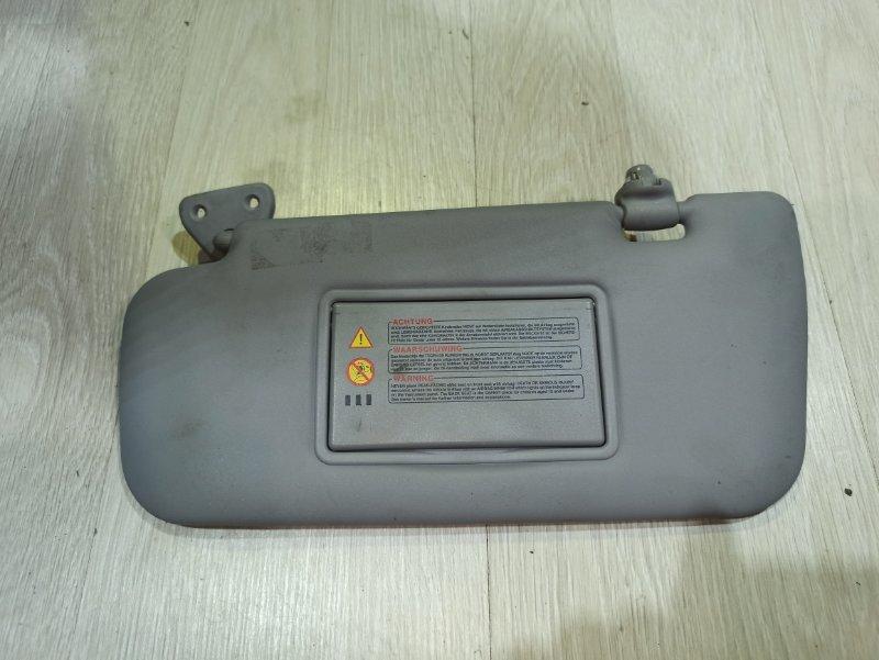 Козырек солнцезащитный Nissan Primera P12 ЛИФТБЕК QG18DE правый (б/у)