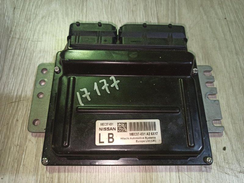 Блок управления двс Nissan Primera P12 ЛИФТБЕК QG18DE (б/у)