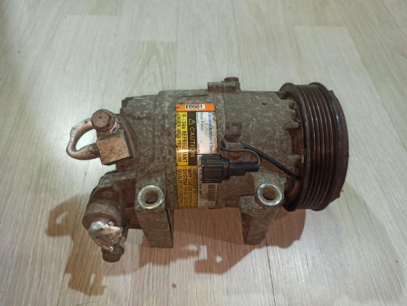 Компрессор кондиционера Nissan Primera P12 ЛИФТБЕК QG18DE (б/у)