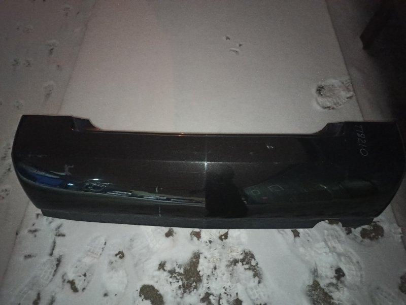 Бампер Nissan Primera P12 ЛИФТБЕК QG18DE задний (б/у)