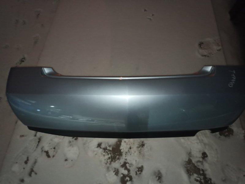 Бампер Nissan Primera P12 ЛИФТБЕК QG18DE 2004 задний (б/у)