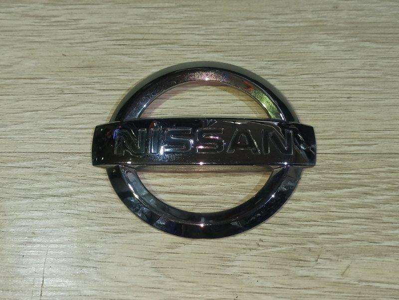 Эмблема Nissan Primera P12 СЕДАН QR20DE задняя (б/у)
