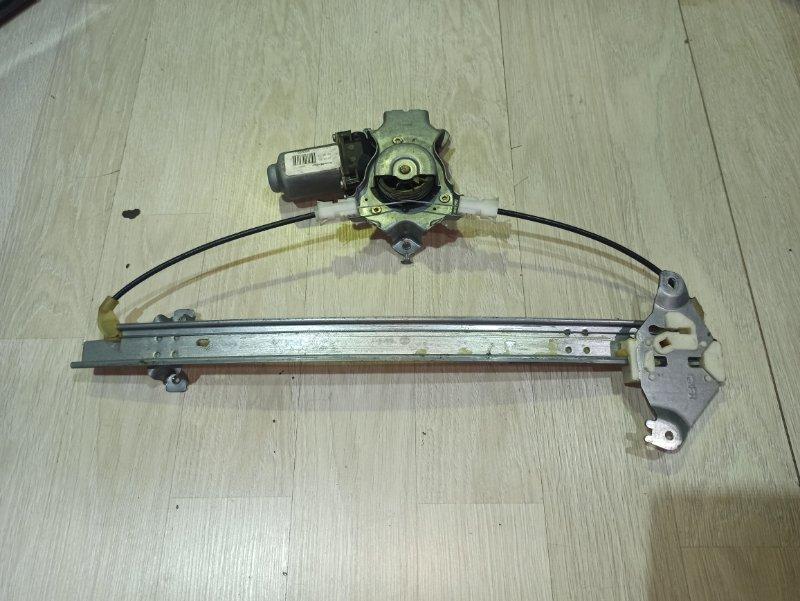 Стеклоподъемник Nissan Primera P12 ЛИФТБЕК QG18DE задний правый (б/у)