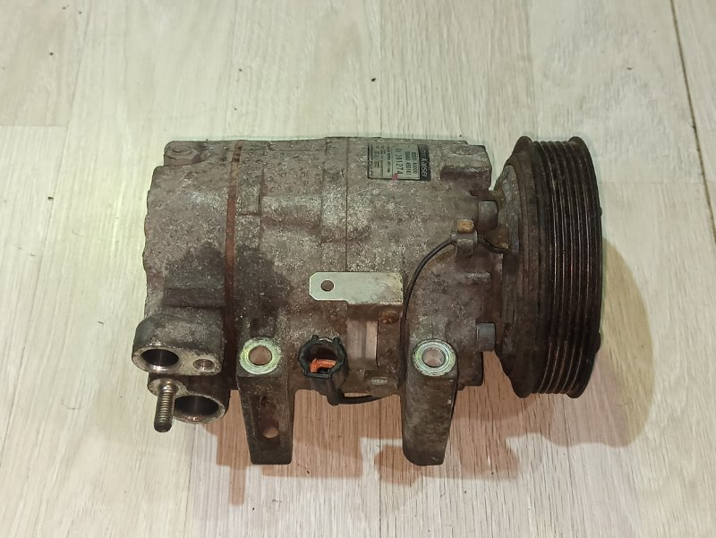 Компрессор кондиционера Nissan Primera P12 СЕДАН QR20DE (б/у)