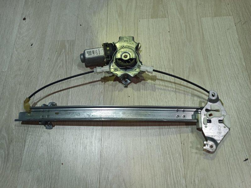 Стеклоподъемник Nissan Primera P12 СЕДАН QR20DE задний правый (б/у)