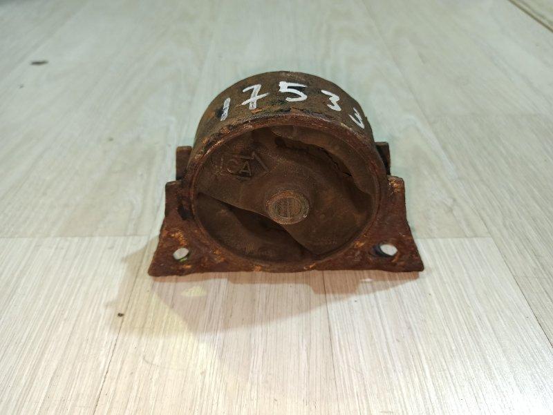 Подушка двигателя (опора) Nissan Primera P12 ЛИФТБЕК QG18DE передняя (б/у)