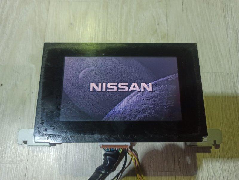 Монитор Nissan Primera P12 ЛИФТБЕК QG18DE (б/у)
