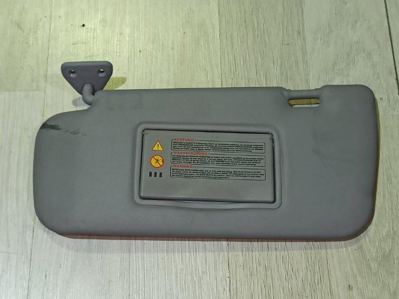 Козырек солнцезащитный Nissan Primera P12 ЛИФТБЕК QG18DE левый (б/у)