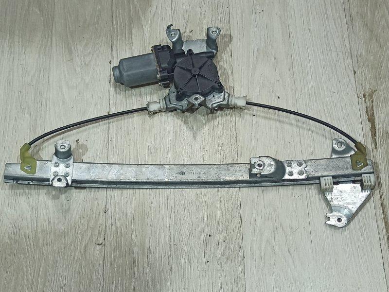 Стеклоподъемник Nissan Primera P12 ЛИФТБЕК QG18DE задний левый (б/у)