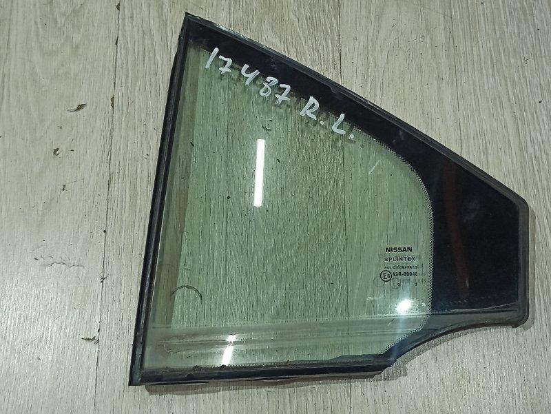 Треугольник задней двери Nissan Primera P12 СЕДАН QR20DE задний левый (б/у)