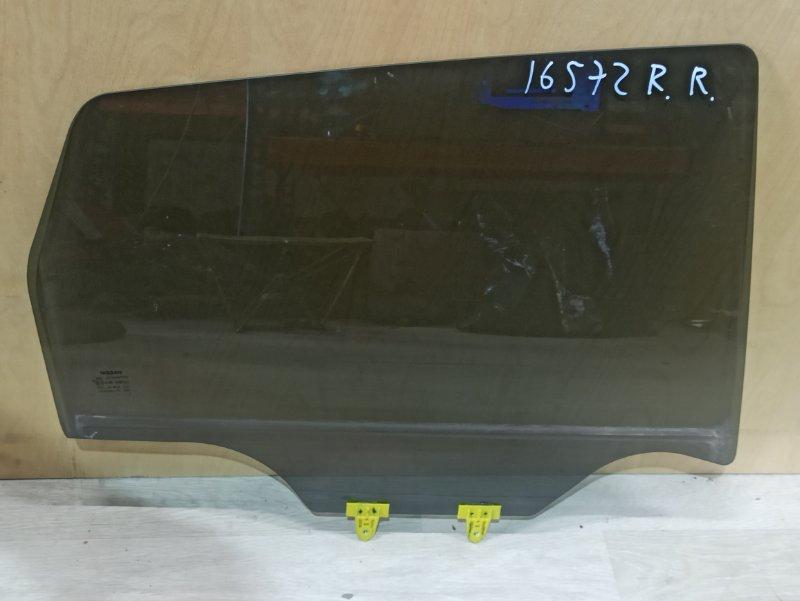 Стекло Nissan Qashqai J10 HR16DE 2013 заднее правое (б/у)