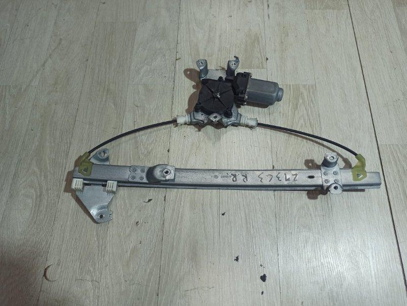 Стеклоподъемник Nissan Primera P12 ЛИФТБЕК QG18DE 200? задний правый (б/у)