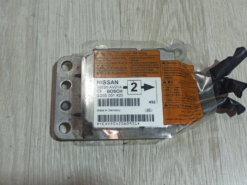 Блок управления аирбаг Nissan Primera P12 ЛИФТБЕК QG18DE 200? (б/у)