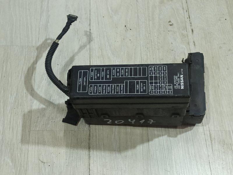 Блок предохранителей Nissan Primera P12 ЛИФТБЕК QG18DE (б/у)