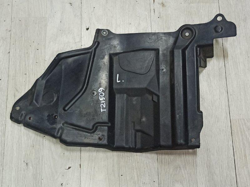 Защита двигателя Nissan Primera P12 ЛИФТБЕК QG18DE 2003 левая (б/у)