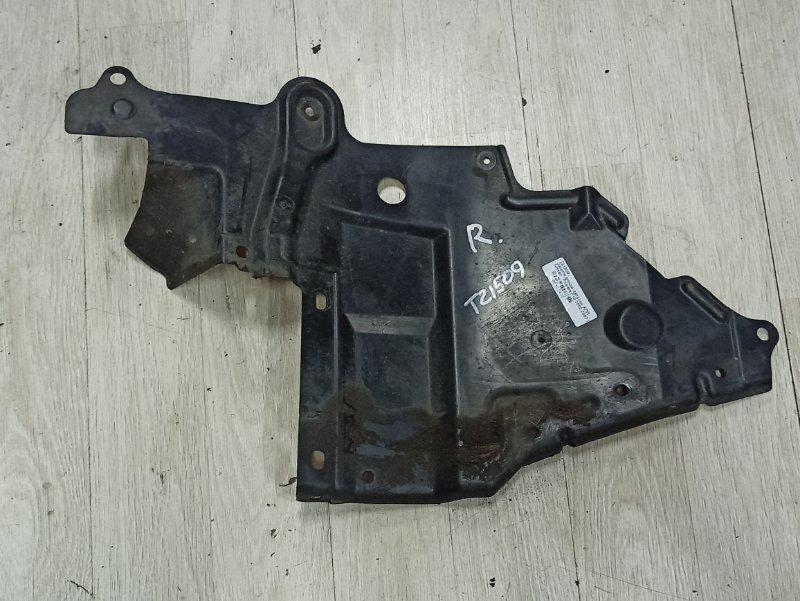 Защита двигателя Nissan Primera P12 ЛИФТБЕК QG18DE 2003 правая (б/у)