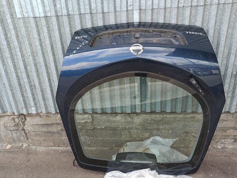 Крышка багажника Nissan Primera P12 ЛИФТБЕК QG18DE ? (б/у)