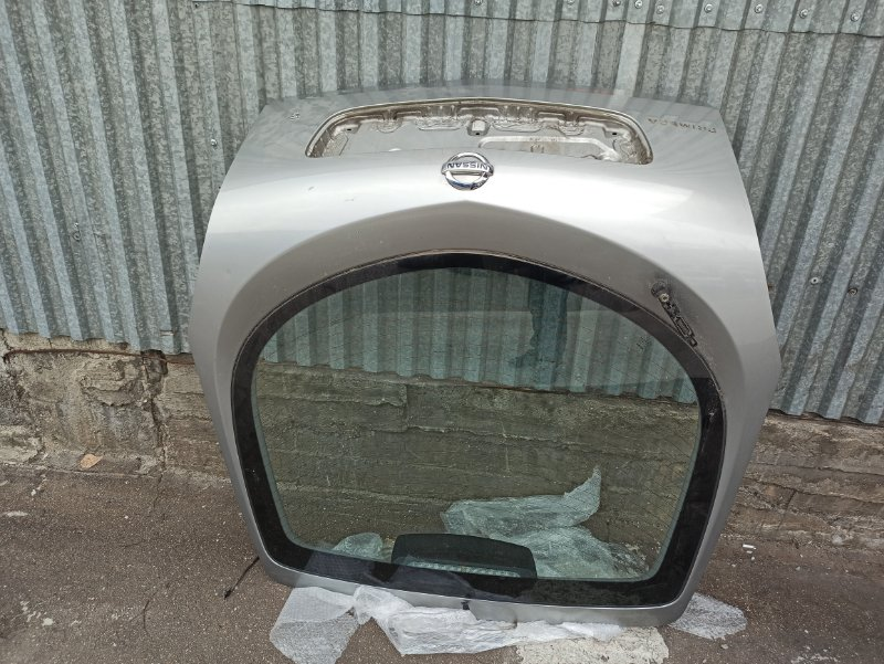 Крышка багажника Nissan Primera P12 ЛИФТБЕК QG18DE (б/у)