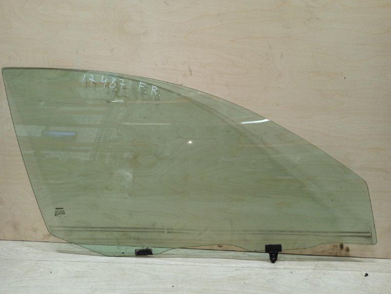 Стекло Nissan Primera P12 СЕДАН QR20DE переднее правое (б/у)
