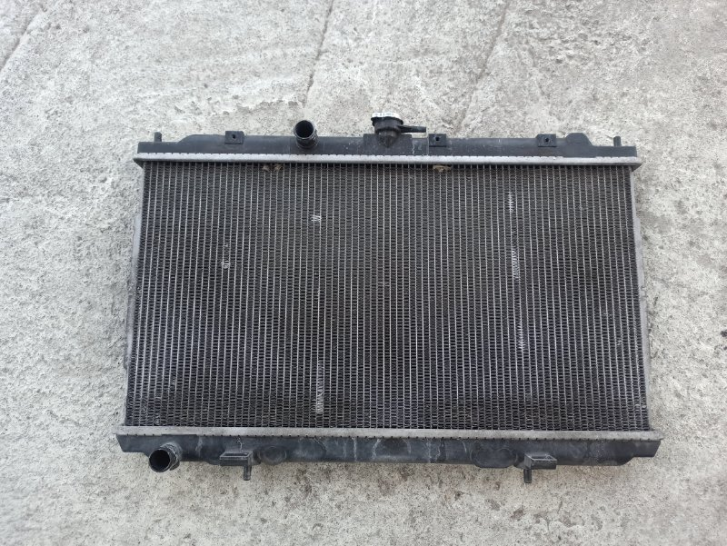 Радиатор двс Nissan Primera P12 ЛИФТБЕК QG18DE ? (б/у)