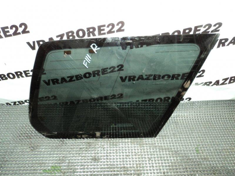 Стекло собачника Subaru Forester SG5-065915 EJ205 2004 правое