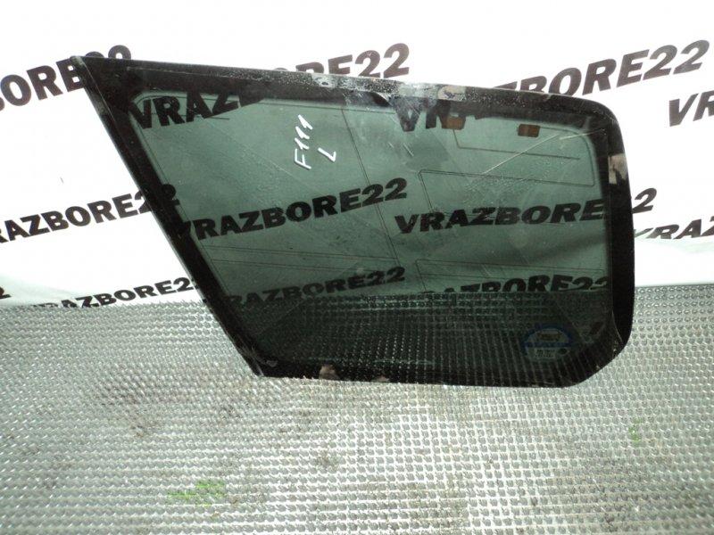 Стекло собачника Subaru Forester SG5-065915 EJ205 2004 левое