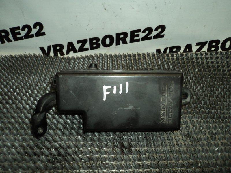 Блок предохранителей Subaru Forester SG5-065915 EJ205 2004