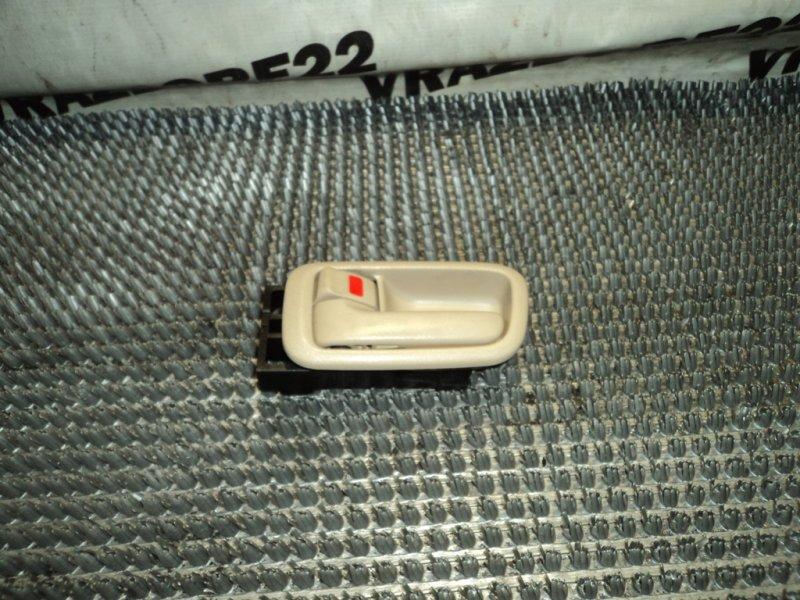Ручка двери внутренняя Toyota Vista Ardeo SV50-0027899 3S-FSE 1999 задняя левая