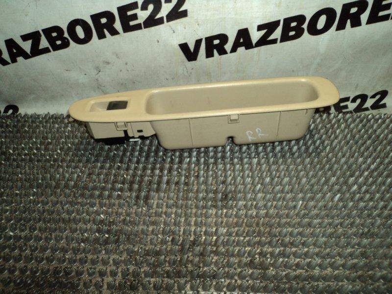 Блок управления стеклоподъемниками Toyota Vista SV50-0034870 3S-FSE 1999 задний правый