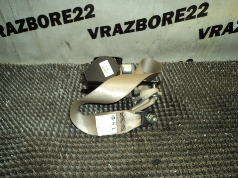 Ремни безопастности Nissan Bluebird Sylphy KG11-022291 MR20DE 2006 левые