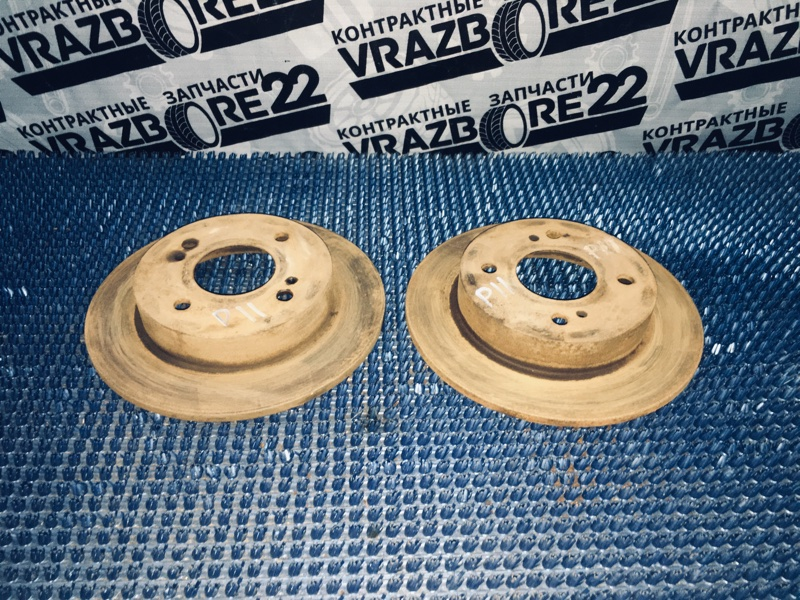 Диски тормозные Nissan Primera P11 1996 задние
