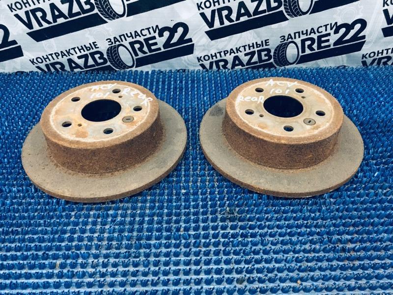 Диски тормозные Toyota Camry ACV30-0076448 2AZ-FE 2002 задние