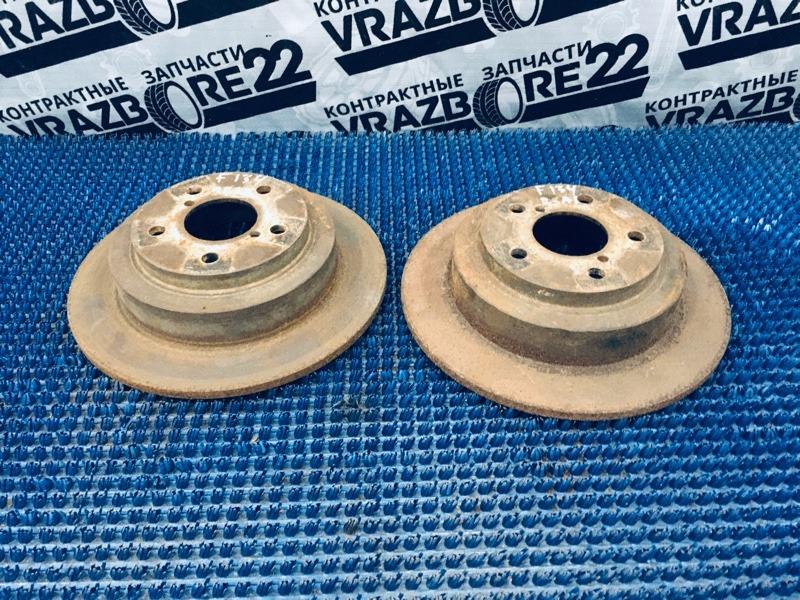 Диски тормозные Subaru Forester SG5-028446 EJ205 2003 задние