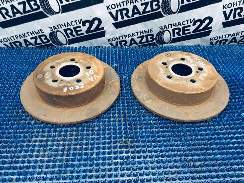 Диски тормозные Toyota Vista Ardeo AZV50 1AZ-FSE 2001 задние
