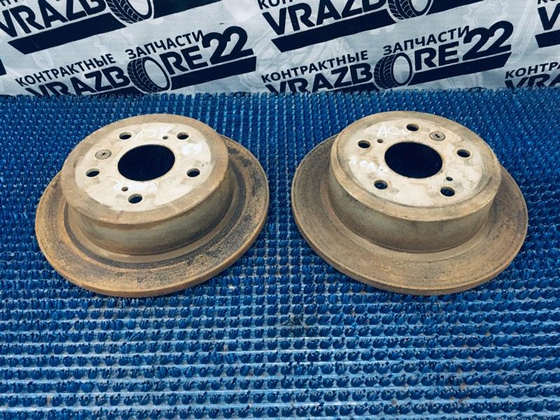 Диски тормозные Toyota Camry ACV30-0100874 2AZ-FE 2003 задние