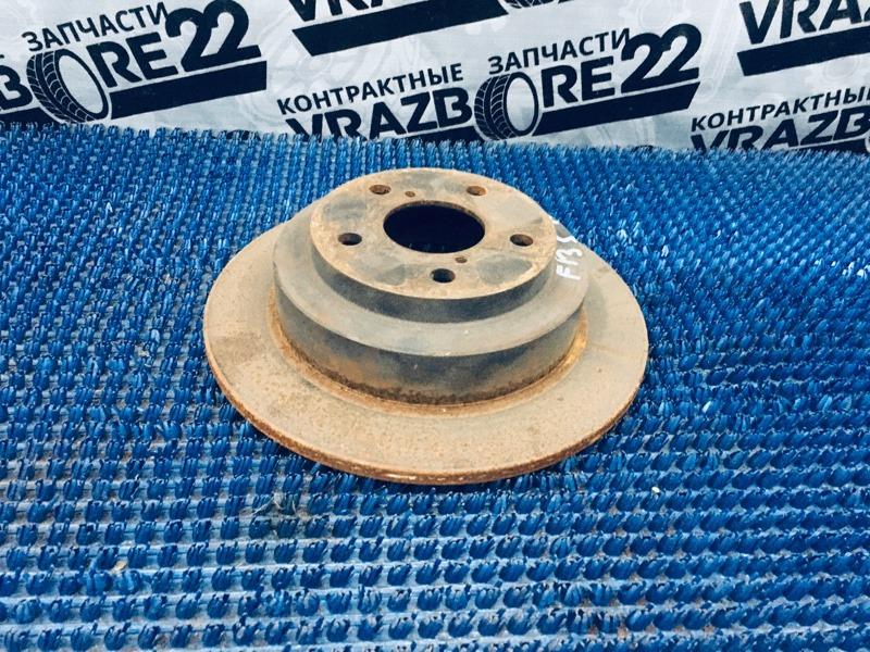 Диск тормозной Subaru Forester SG5-068391 EJ205 2004 задний