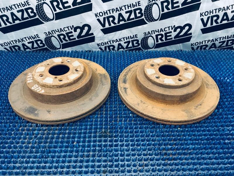 Диски тормозные Subaru Legacy B4 BE5-109930 EJ206 2001 задние