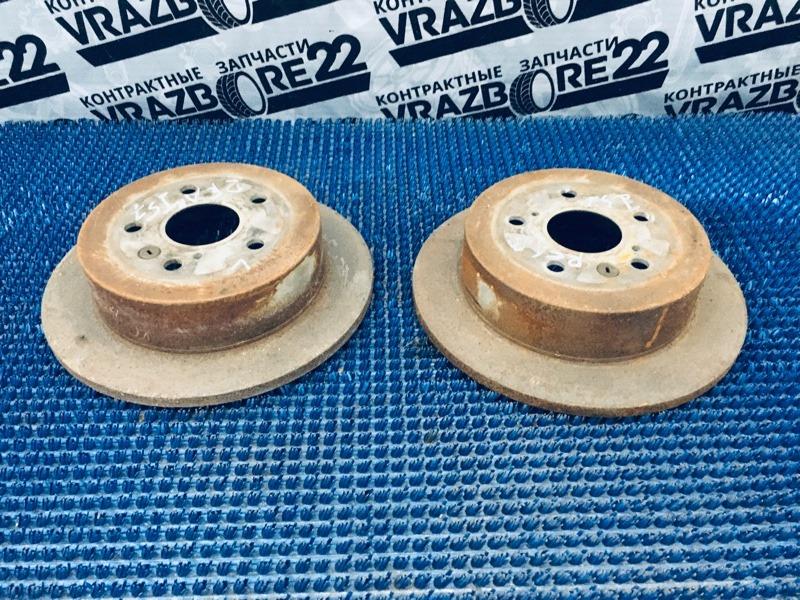 Диски тормозные Toyota Ipsum ACM21-5070764 2AZ-FE 2003 задние