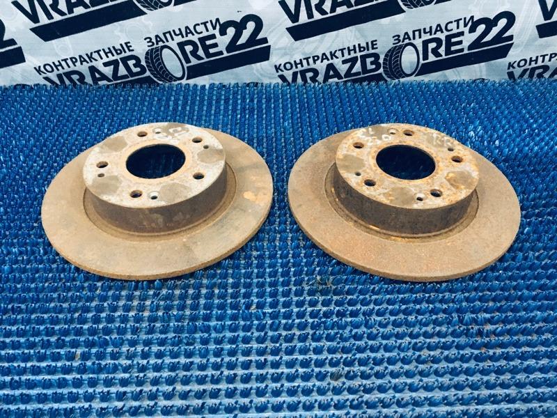 Диски тормозные Honda Accord CL7-3001698 K20A 2003 задние