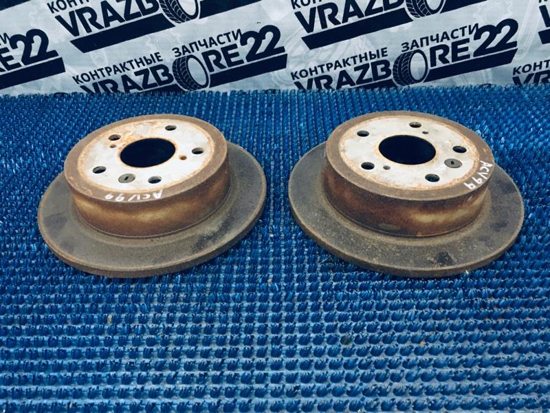 Диски тормозные Toyota Camry ACV30-3026477 2AZ-FE 2005 задние